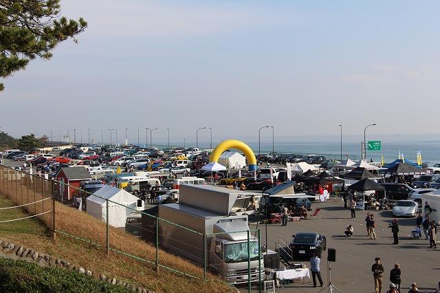 一般来場車両台数は600台を超えました。